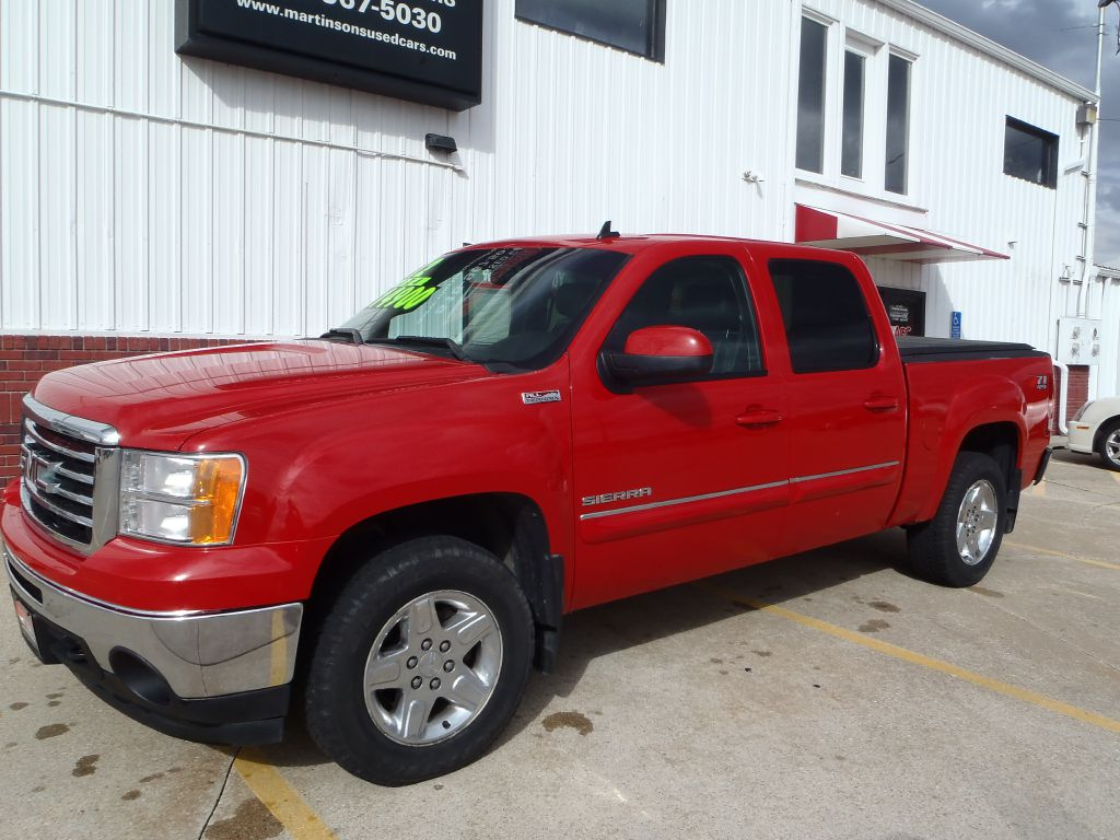 2012 GMC SIERRA  - Martinson's Used Cars, LLC