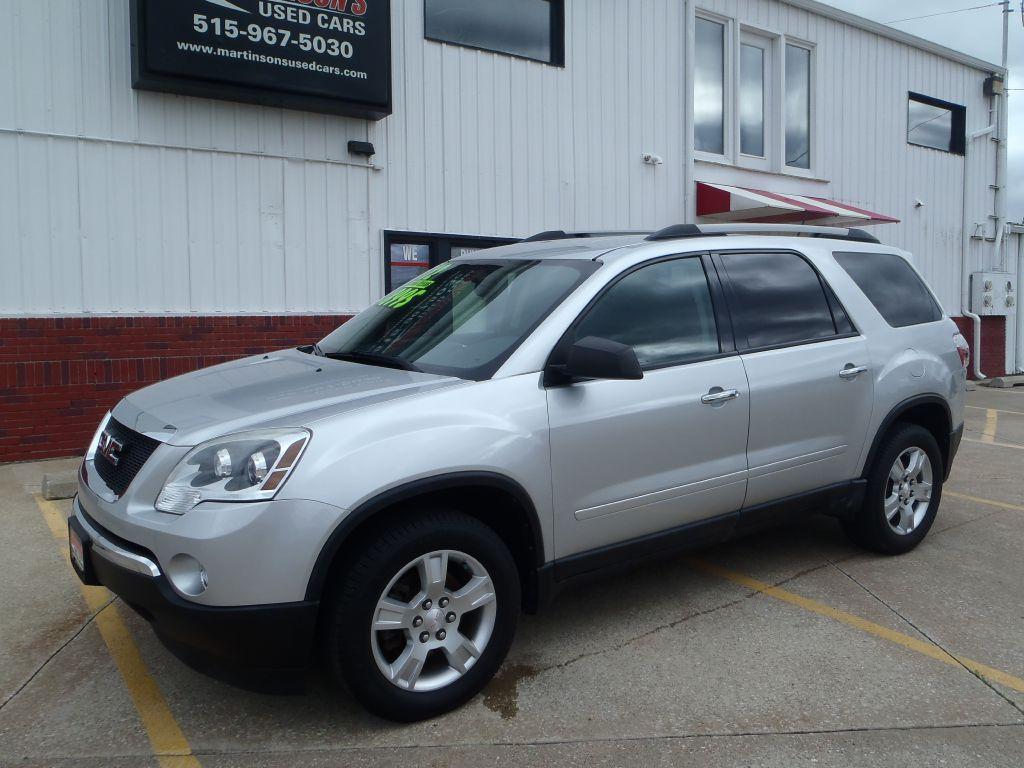 2012 GMC Acadia SLE  - 413608  - Martinson's Used Cars, LLC