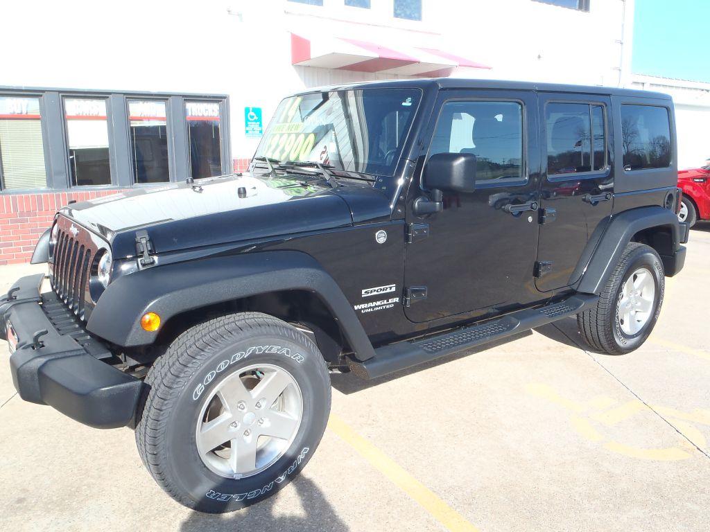 2014 Jeep WRANGLER UNLIMI SPORT  - 211724  - Martinson's Used Cars, LLC