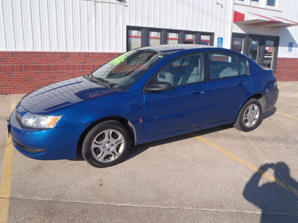 2003 Saturn ION LEVEL 2  - BRUCE  - Martinson's Used Cars, LLC