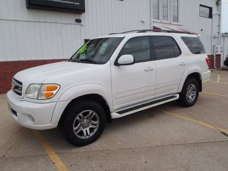 2003 Toyota Sequoia LIMITED for Sale  - 185261  - Martinson's Used Cars, LLC
