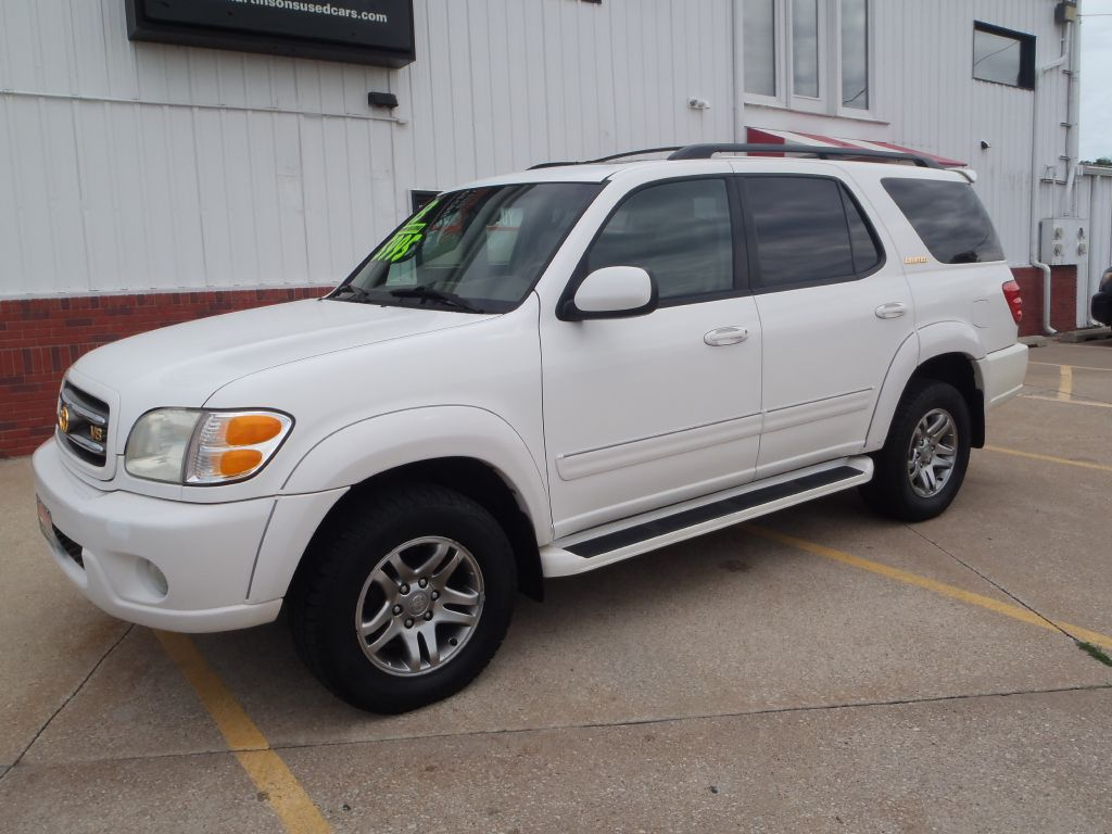 2003 Toyota Sequoia LIMITED  - 185261  - Martinson's Used Cars, LLC
