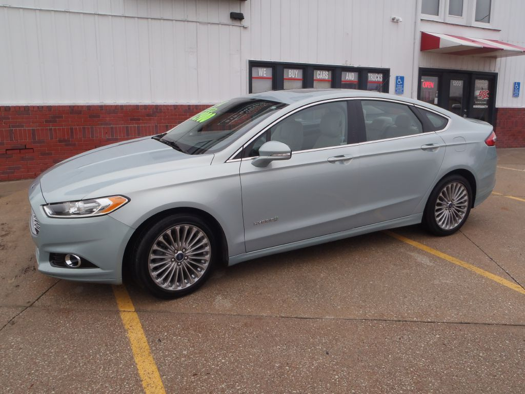 2014 Ford Fusion TITANIUM HEV  - 382938  - Martinson's Used Cars, LLC