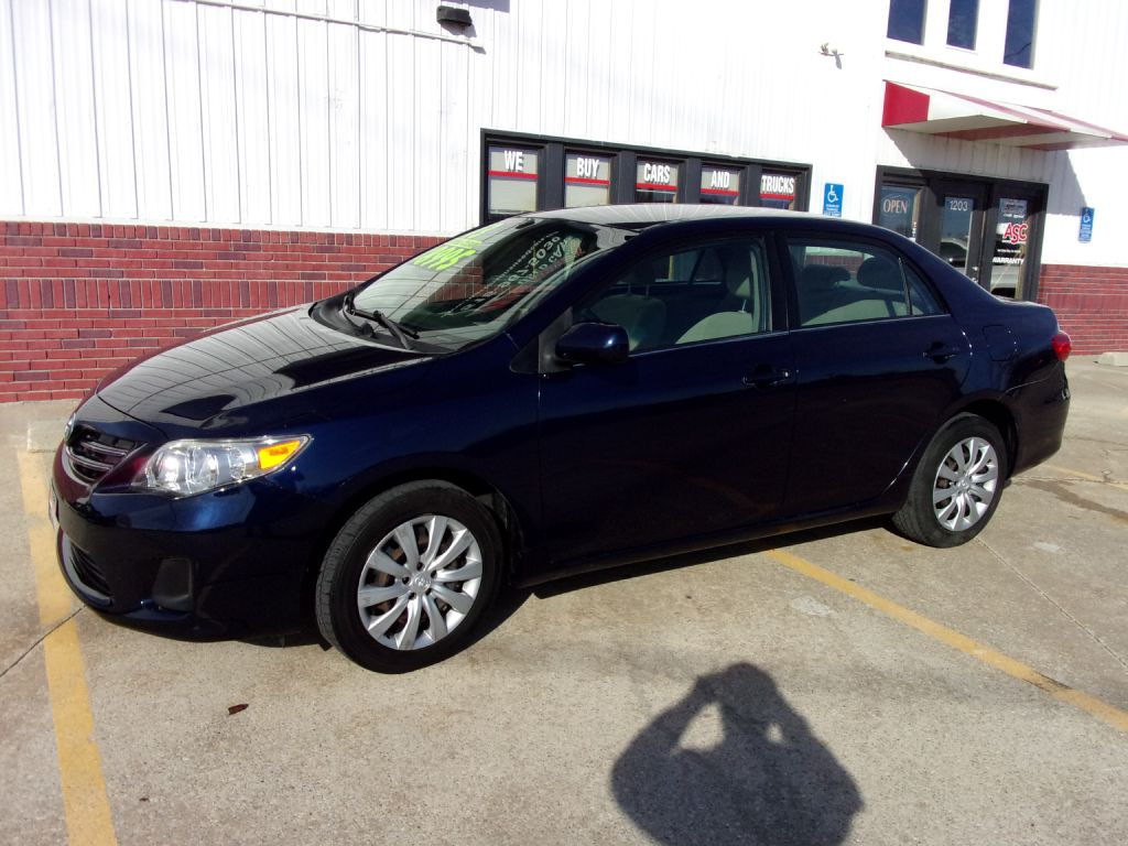 2013 Toyota Corolla  - Martinson's Used Cars, LLC