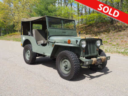 1946 Jeep Cj-2a  for Sale  - A16508  - Classic Auto Sales