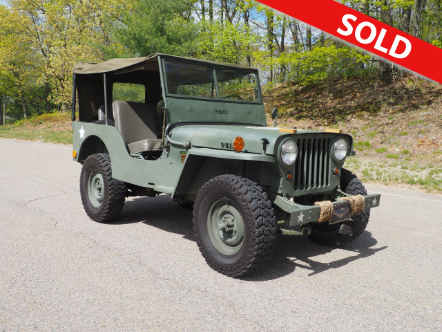 1946 Jeep Cj-2a  - A16508  - Classic Auto Sales