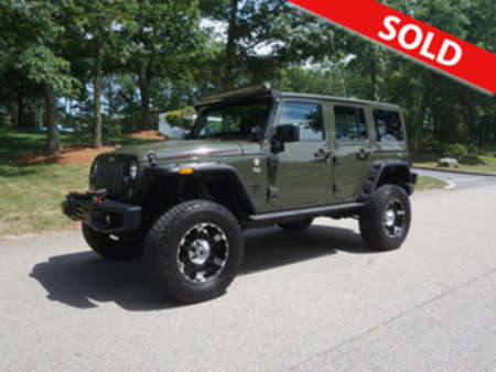 2015 Jeep Wrangler Rubicn for Sale  - W-13686  - Classic Auto Sales