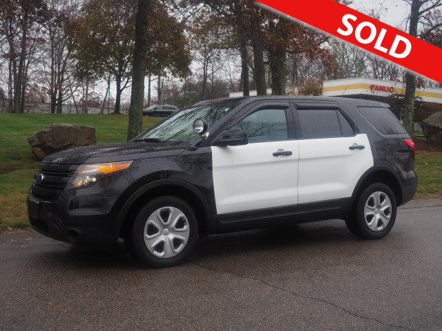 2015 Ford Explorer Police Interceptor  - C3352A  - Classic Auto Sales
