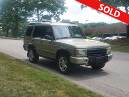 2004 Land Rover Discovery SE for Sale  - 4A847764  - Classic Auto Sales