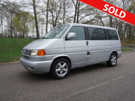 2002 Volkswagen EuroVan MV for Sale  - W-13619  - Classic Auto Sales