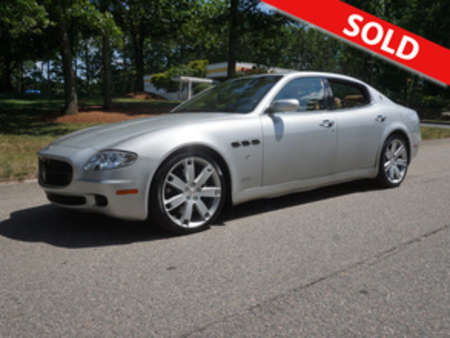 2008 Maserati Quattroporte Automatic for Sale  - 036842  - Classic Auto Sales