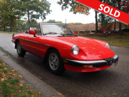 1984 Alfa Romeo Spider 2.0 for Sale  - 018693  - Classic Auto Sales