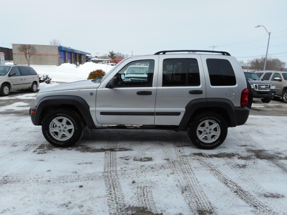 2004 jeep liberty sport 4x4 - stock # 98847 - polk city, ia 50226