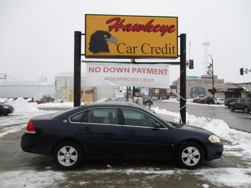 2007 Chevrolet Impala  - 3843  - Hawkeye Car Credit - Newton