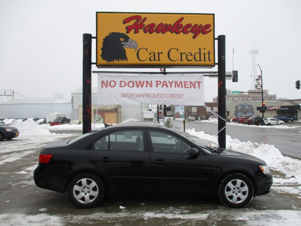 2009 Hyundai Sonata  - 3842  - Hawkeye Car Credit - Newton