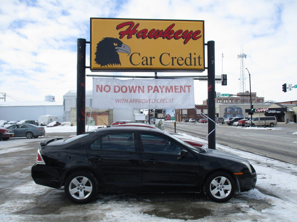 2007 Ford Fusion  - 3868  - Hawkeye Car Credit - Newton