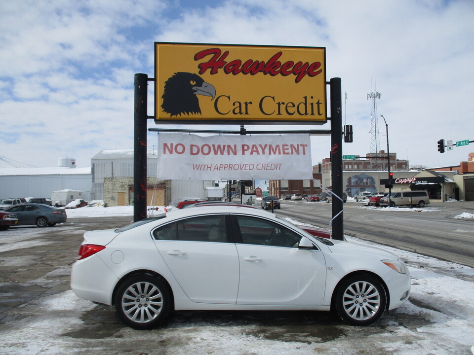 2011 Buick Regal  - 3853  - Hawkeye Car Credit - Newton
