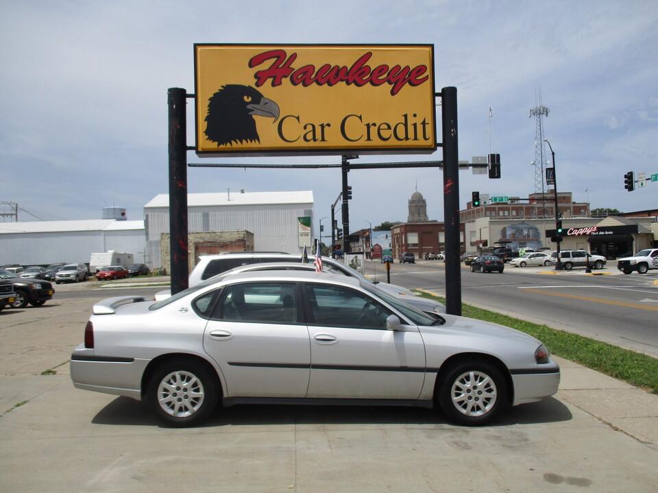 2003 Chevrolet Impala  - 3604R  - Hawkeye Car Credit - Newton