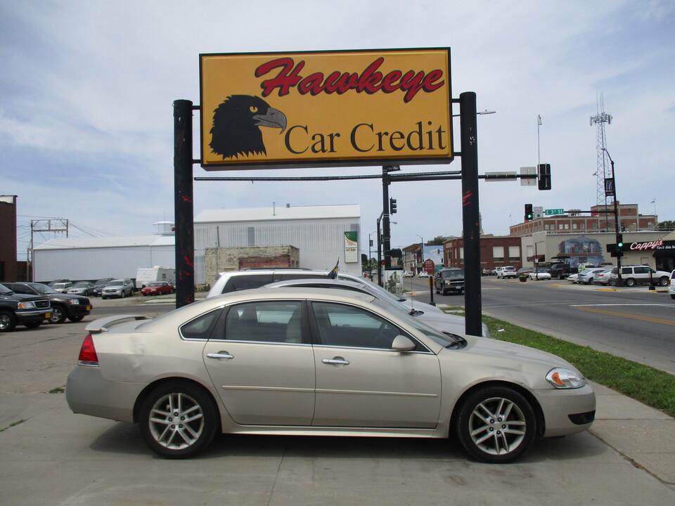 2012 Chevrolet Impala  - 3886  - Hawkeye Car Credit - Newton