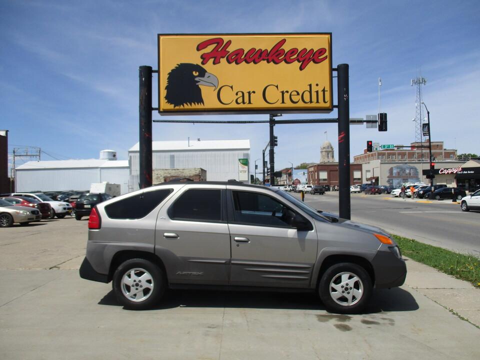 2001 Pontiac Aztek  - Hawkeye Car Credit - Newton