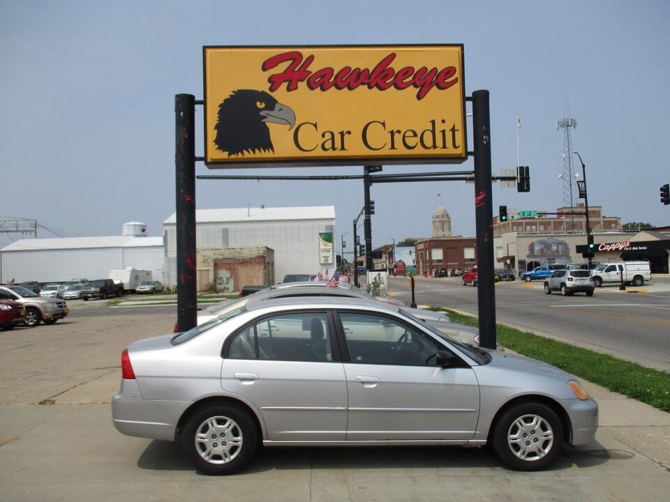 2002 Honda Civic  - 3852  - Hawkeye Car Credit - Newton
