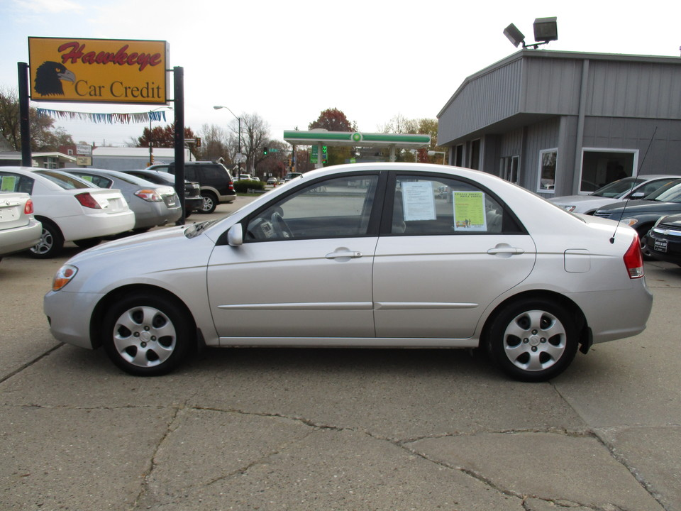 2008 Kia Spectra  - Hawkeye Car Credit - Newton