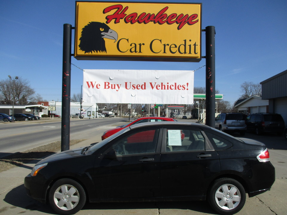 2008 Ford Focus  - 3769  - Hawkeye Car Credit - Newton