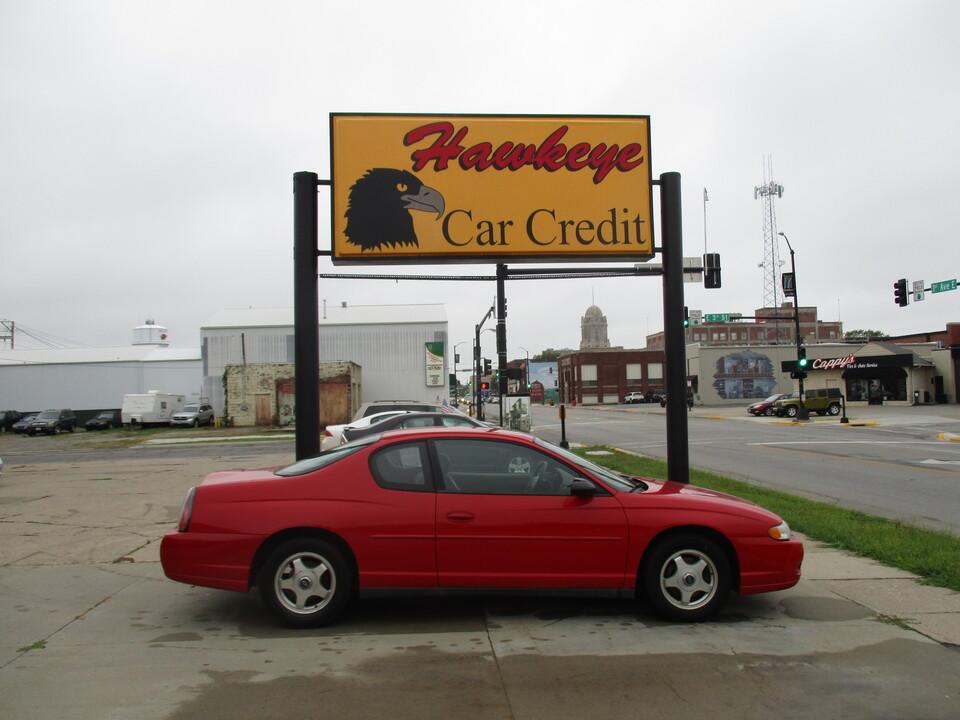 2004 Chevrolet Monte Carlo  - 3919  - Hawkeye Car Credit - Newton