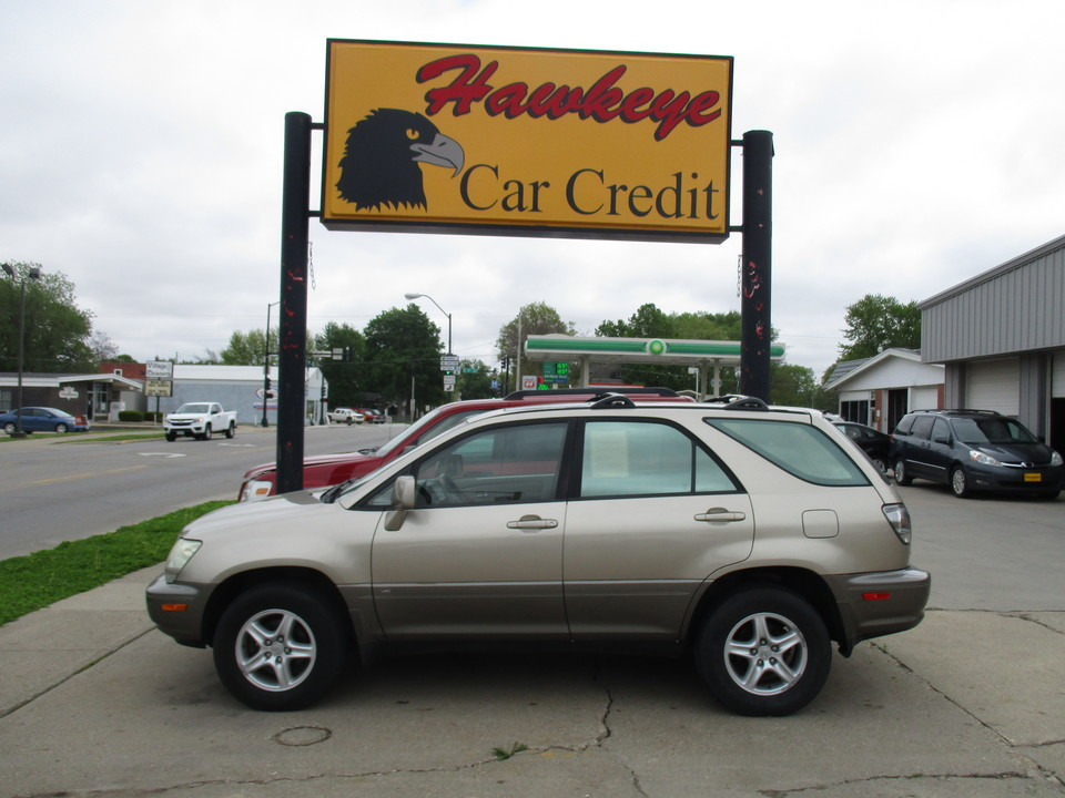 2001 Lexus RX 300  - 3785A  - Hawkeye Car Credit - Newton