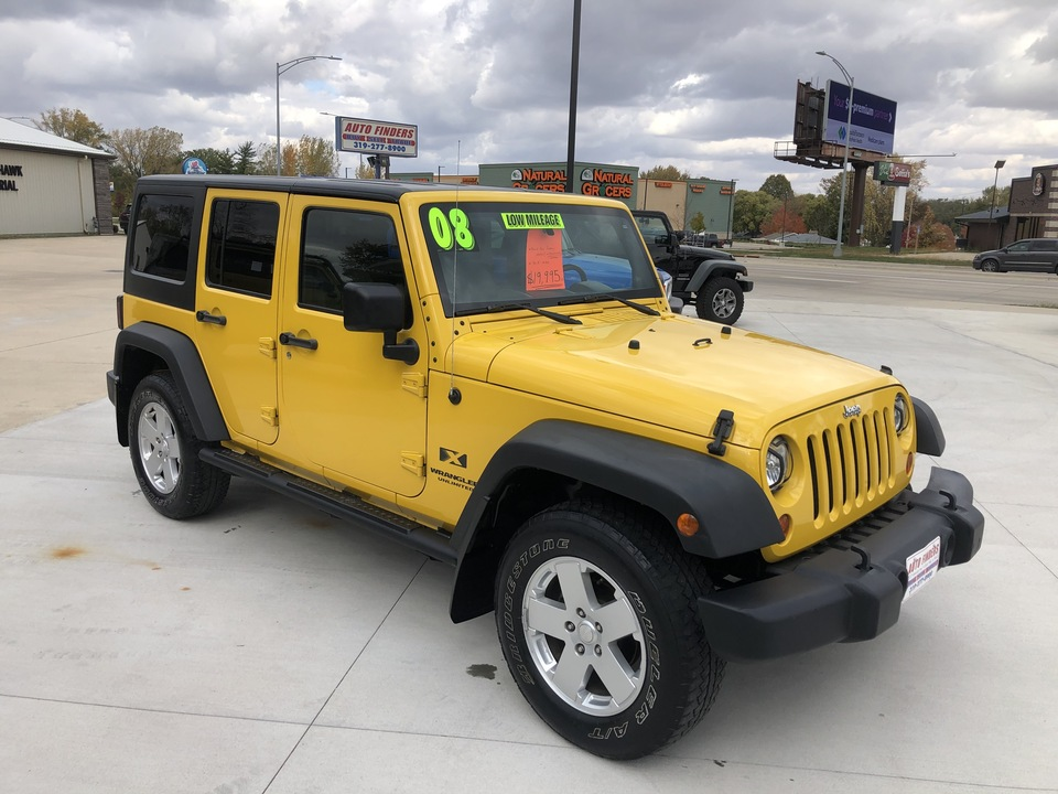 2008 Jeep Wrangler Unlimited  - 561163  - Auto Finders LLC