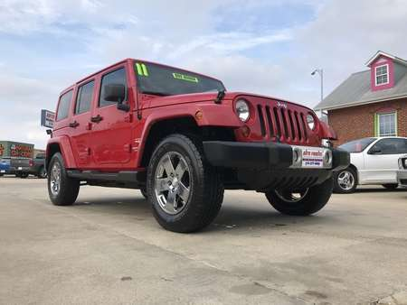 2011 Jeep Wrangler Unlimited sahara for Sale  - 34545  - Auto Finders LLC