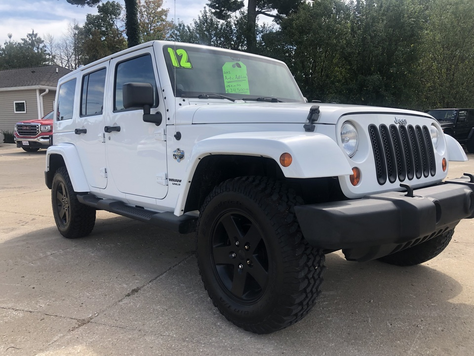 2012 Jeep Wrangler Unlimited Artic Package  - 156588  - Auto Finders LLC