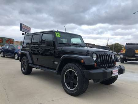 2012 Jeep Wrangler Unlimited Sahara for Sale  - 254885  - Auto Finders LLC