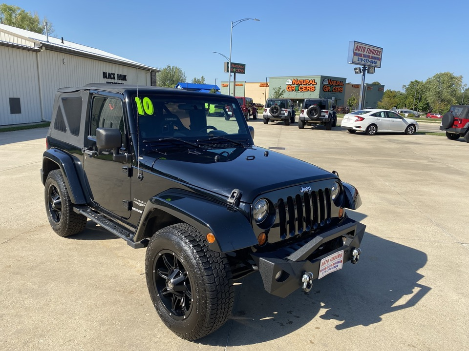 2010 Jeep Wrangler SAHARA  - 79997  - Auto Finders LLC