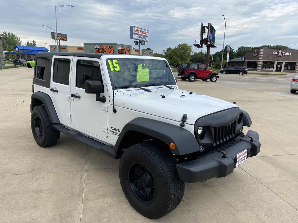2015 Jeep Wrangler Unlimited Sport  - 612844  - Auto Finders LLC