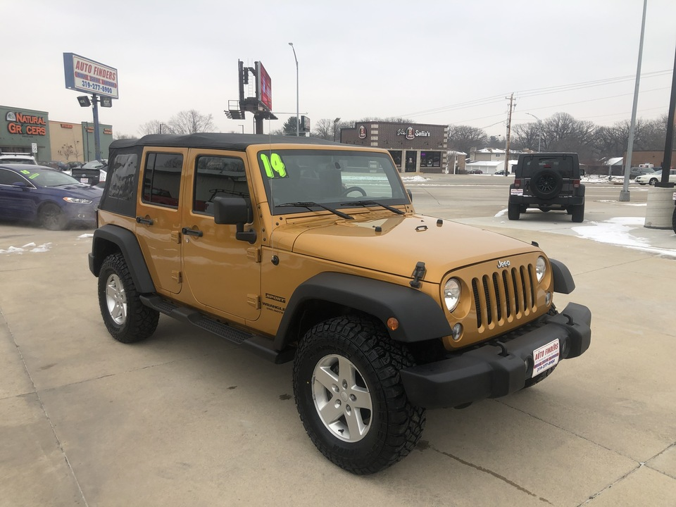 2014 Jeep Wrangler Unlimited  - 8675309  - Auto Finders LLC