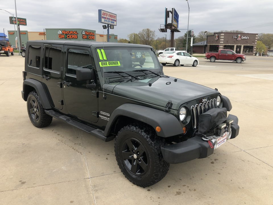 2011 Jeep Wrangler Unlimited Sport  - 596397  - Auto Finders LLC