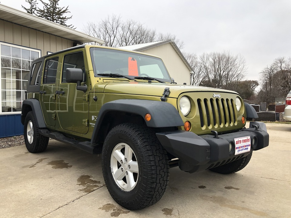 2007 Jeep Wrangler Unlimited  - 137703  - Auto Finders LLC