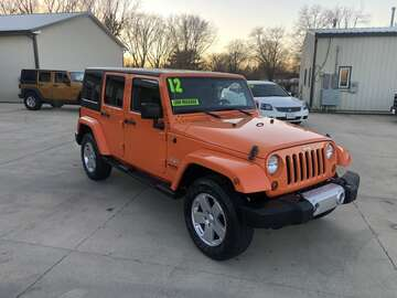 2012 Jeep Wrangler Unlimited SAHA