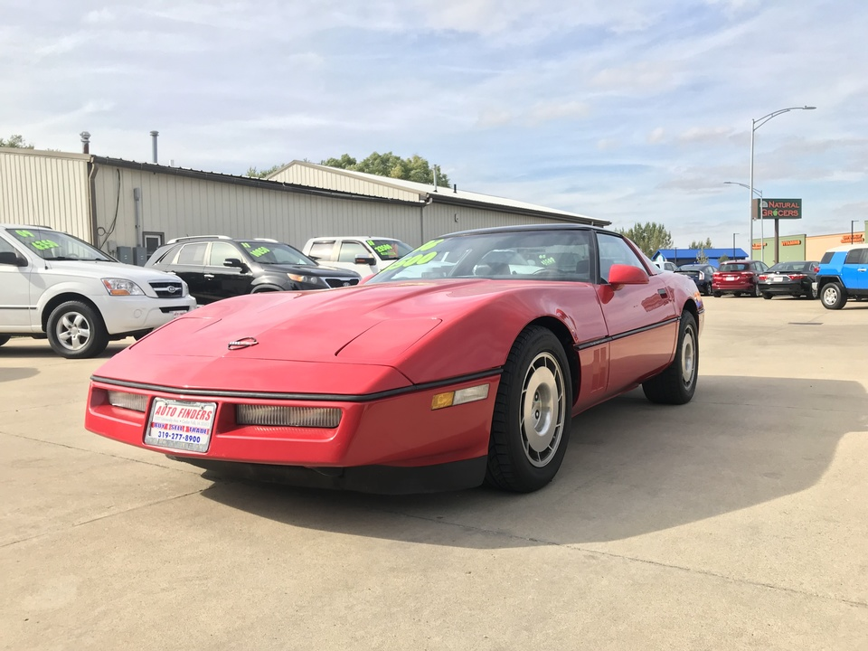 1986 Chevrolet Corvette  - Auto Finders LLC