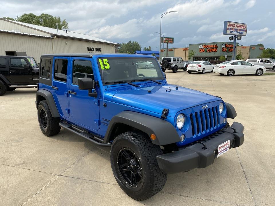 2015 Jeep Wrangler Unlimited Sport  - 740409  - Auto Finders LLC