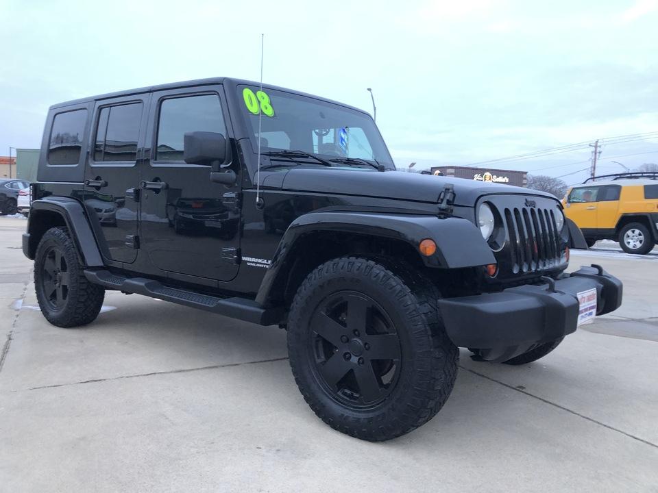2008 Jeep Army Truck Sahara  - 634364  - Auto Finders LLC