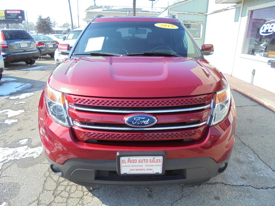2015 Ford Explorer Limited  - 172120  - El Paso Auto Sales