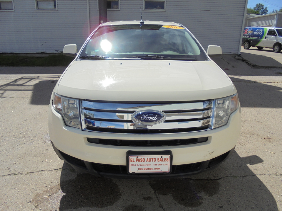 2007 Ford Edge SEL PLUS  - 30376  - El Paso Auto Sales