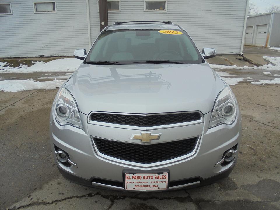 2012 Chevrolet Equinox LTZ  - 354492  - El Paso Auto Sales