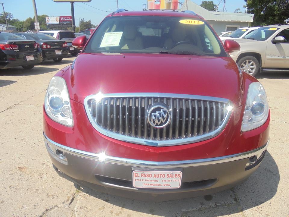 2012 Buick Enclave Leather  - 360360  - El Paso Auto Sales