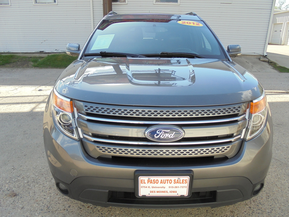 2012 Ford Explorer  - El Paso Auto Sales