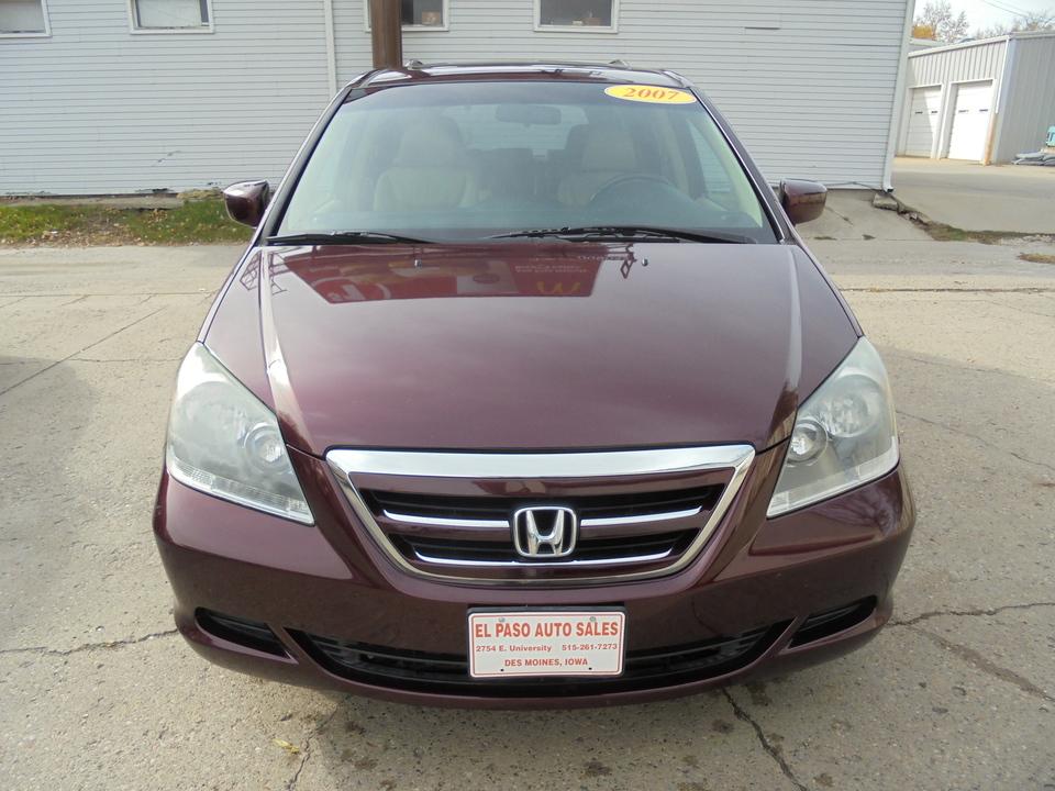 2007 Honda Odyssey Ex L Stock 137198 Des Moines Ia