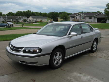 2003 Chevrolet Impala LS for Sale  - 336936  - Merrills Motors