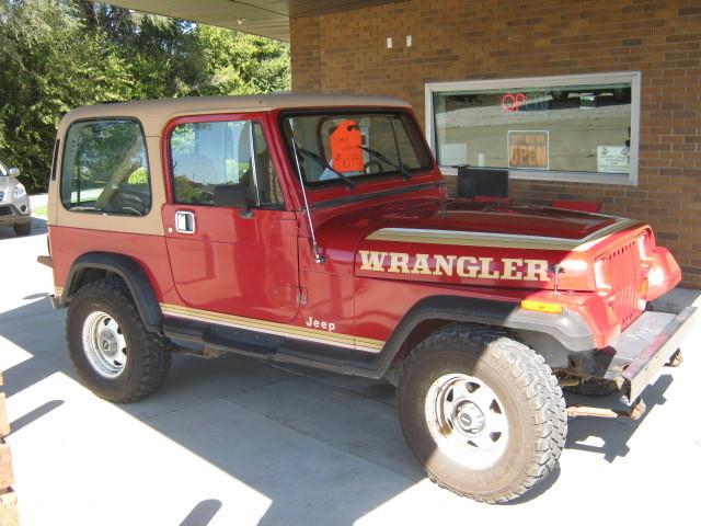 1988 jeep wrangler stock 507797 winterset ia 50273 rh merrillsautosales com 1988 Jeep Wrangler Engine Options 1988 Jeep Wrangler Engine Options